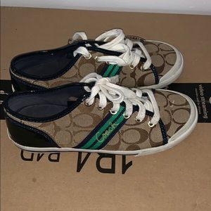 Coach Shoes - Coach polly sneakers